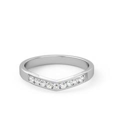 Small-V Quarter Diamond