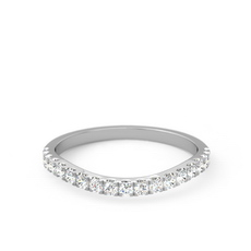 Curved Half Diamond